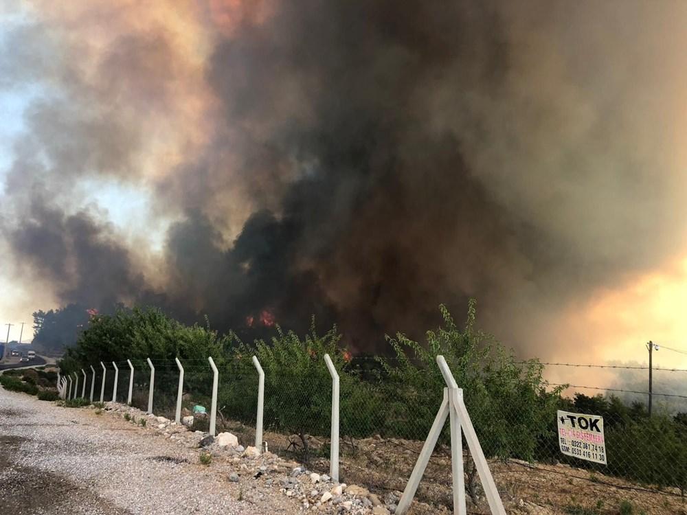 Antalya Manavgat'ta büyük orman yangını - 9