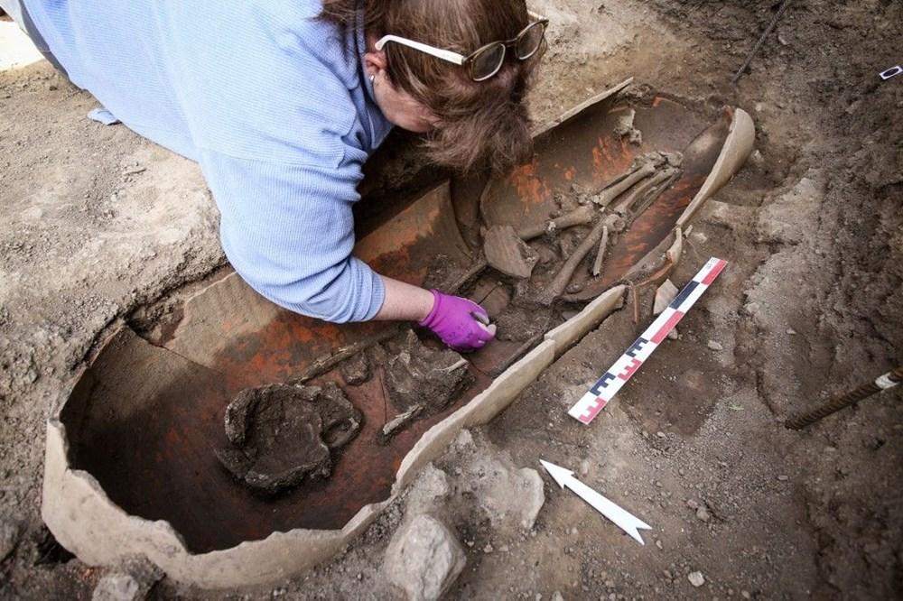 Fransız arkeologlar binlerce yıl öncesine ait 40 tabut keşfetti - 9