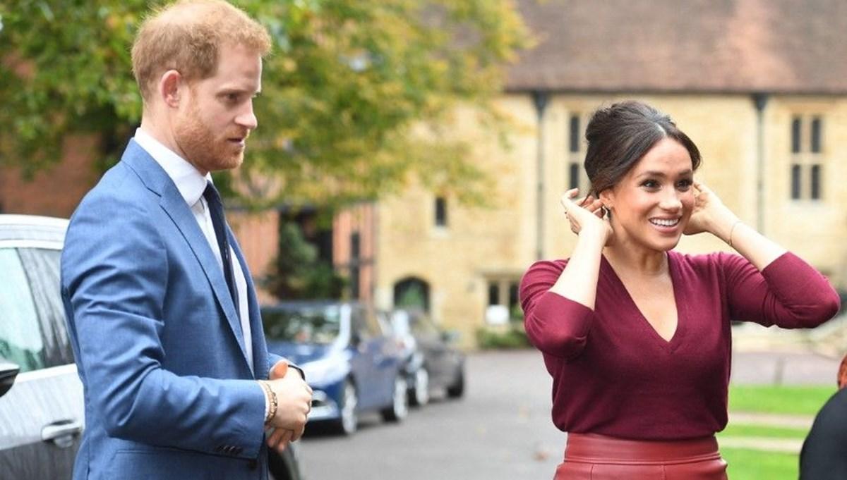 Prens Harry ve Meghan Markle'a kraliyet bütçesinden para ödendiği ortaya çıktı