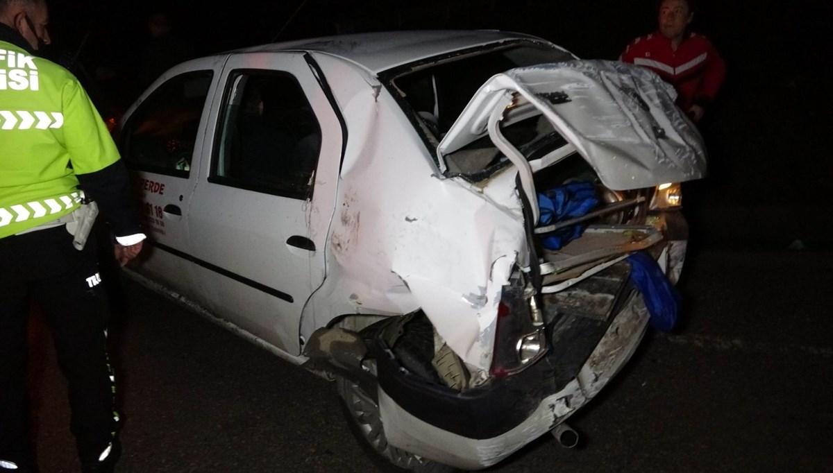 Ünlü oyuncu Sadi Celil Cengiz trafik kazası geçirdi