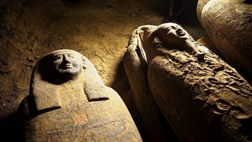 Mısır'da 2 bin 500 yıl öncesine ait 27 lahit bulundu - 4
