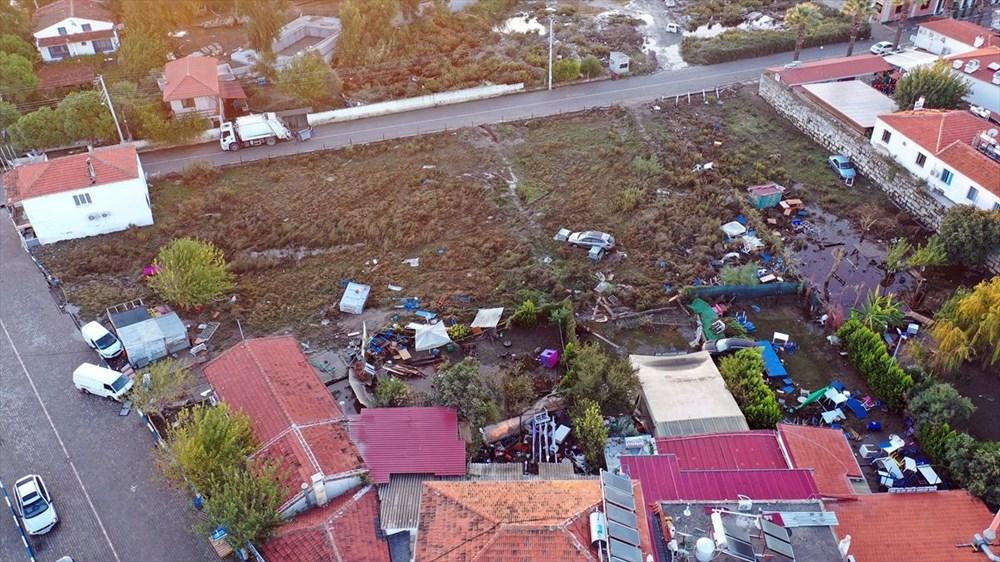 Tsunaminin vurduğu Seferihisar görüntülendi - 7