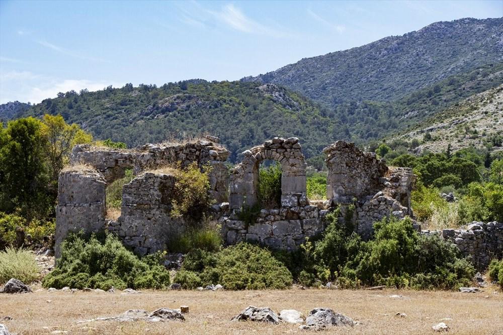 2 bin yıllık Sidyma Antik Kenti içinde yerleşik hayat - 6