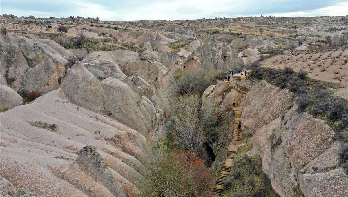 Cappadocia's hidden treasure 'Çat Vadisi' counts days to welcome tourists