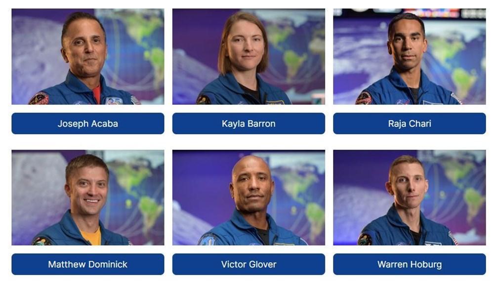 NASA, Ay'a gidecek 18 kişilik ekibi açıkladı - 3