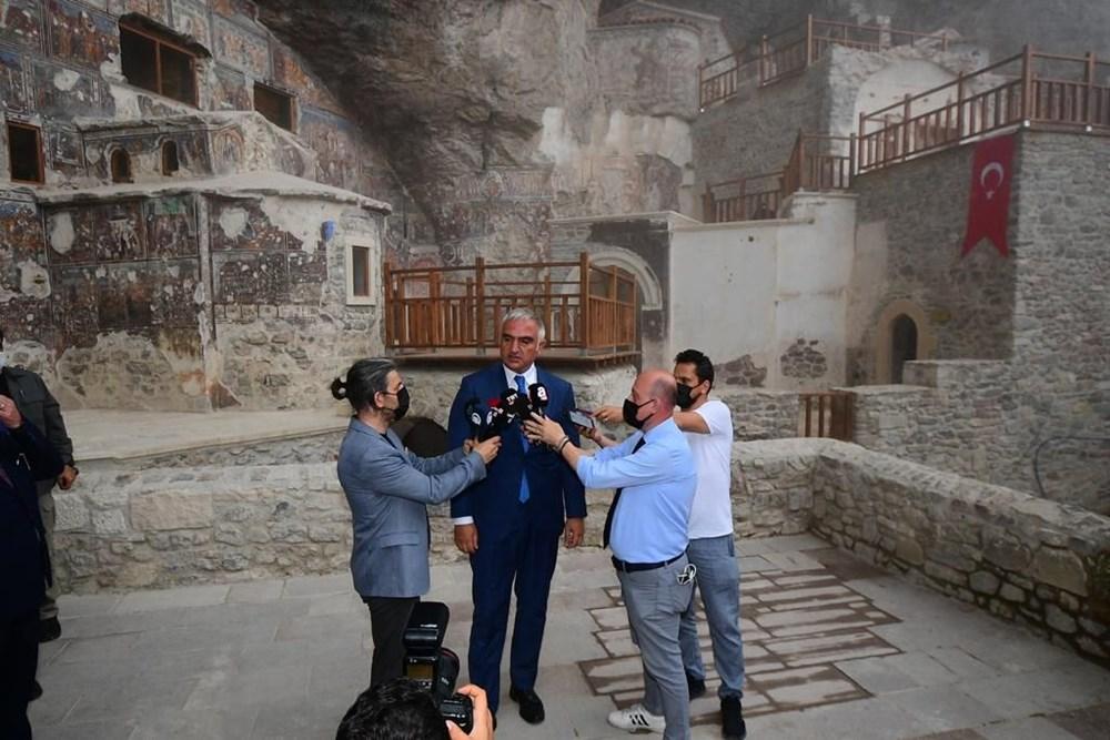 Sümela Manastırı 5 yıl sonra ziyarete açıldı - 8
