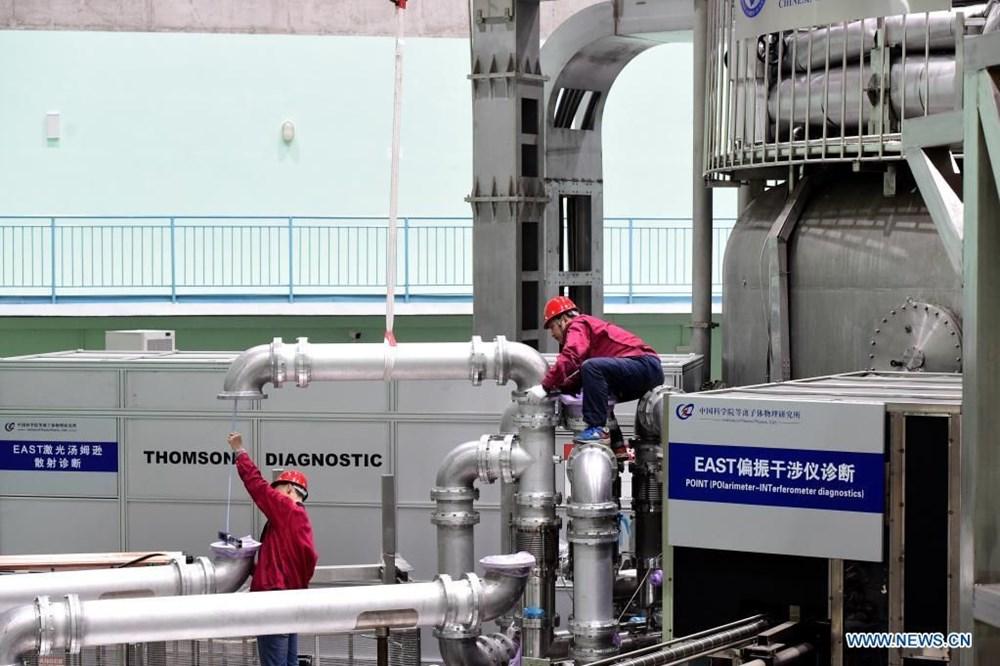 Çin'in sonsuz enerji kaynağı yapay Güneş'i rekor kırdı: Gerçeğinden 10 kat daha sıcak - 5