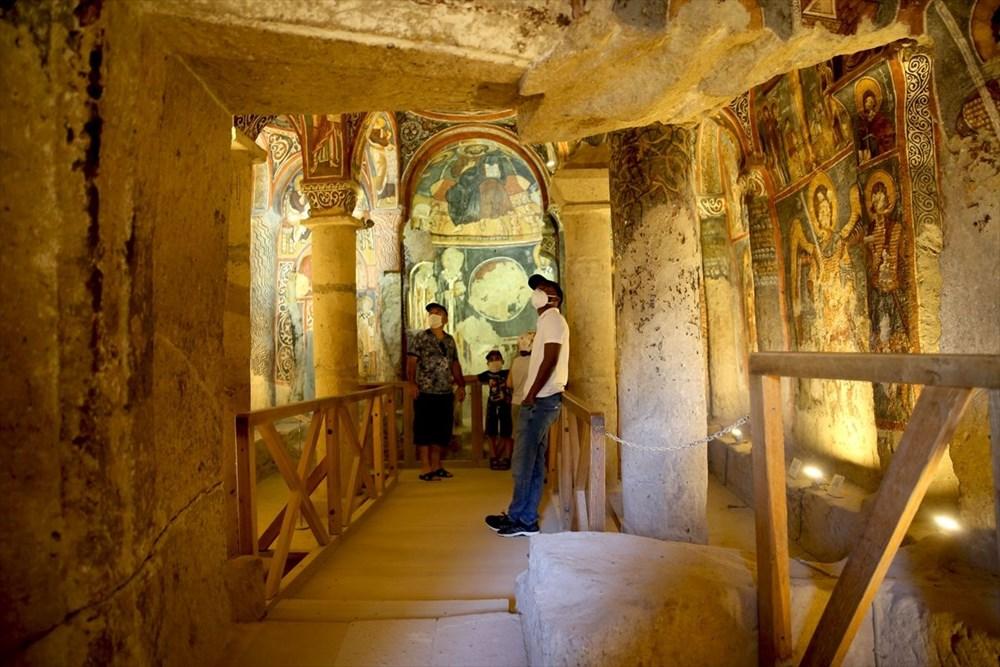 Karanlık Kilise'nin freskleri ile bin yıl öncesine yolculuk - 9