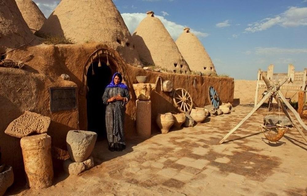 Şanlıurfa'nın tarihi kümbet evleri turist ağırlamaya başladı - 2