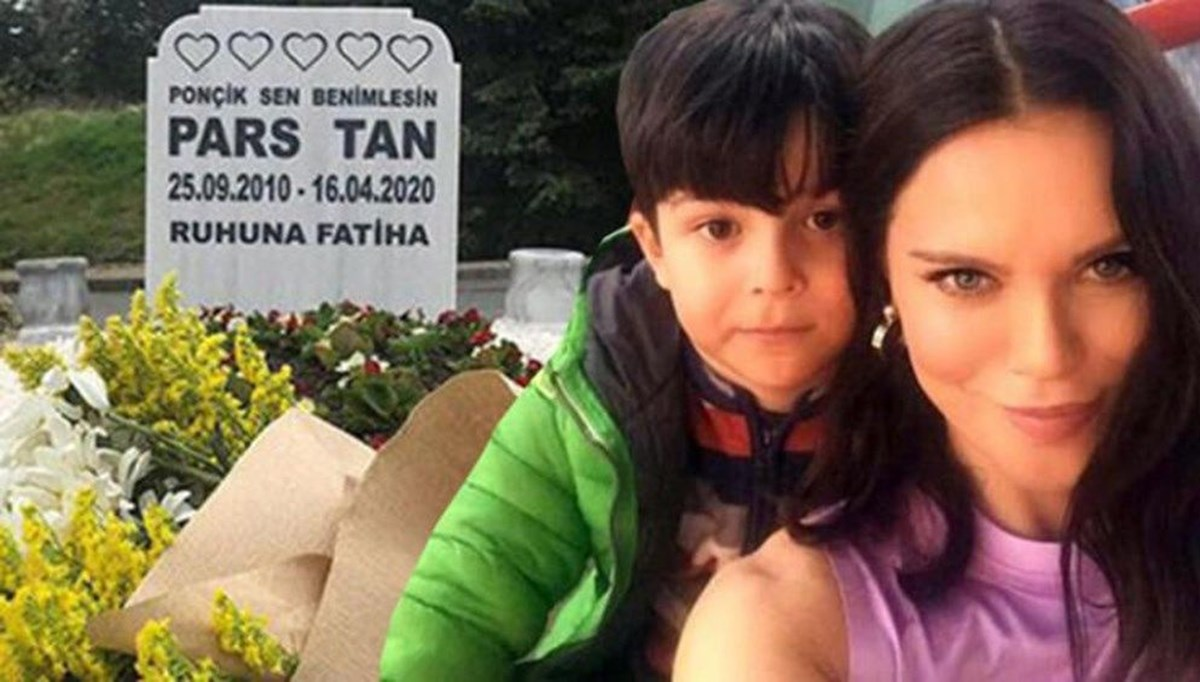 Oğlu Pars Tan'ın ölüm yıl dönümünde Ebru Şallı: Meleklerin de uyuduğuna şahit oldum