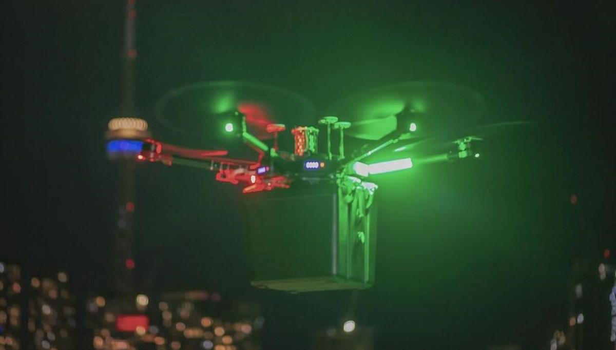 Hastaya nakledilecek akciğer dünyada ilk kez drone ile taşındı