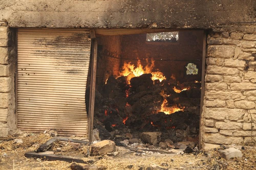 Antalya Manavgat'ta yangın: 3 ölü - 1