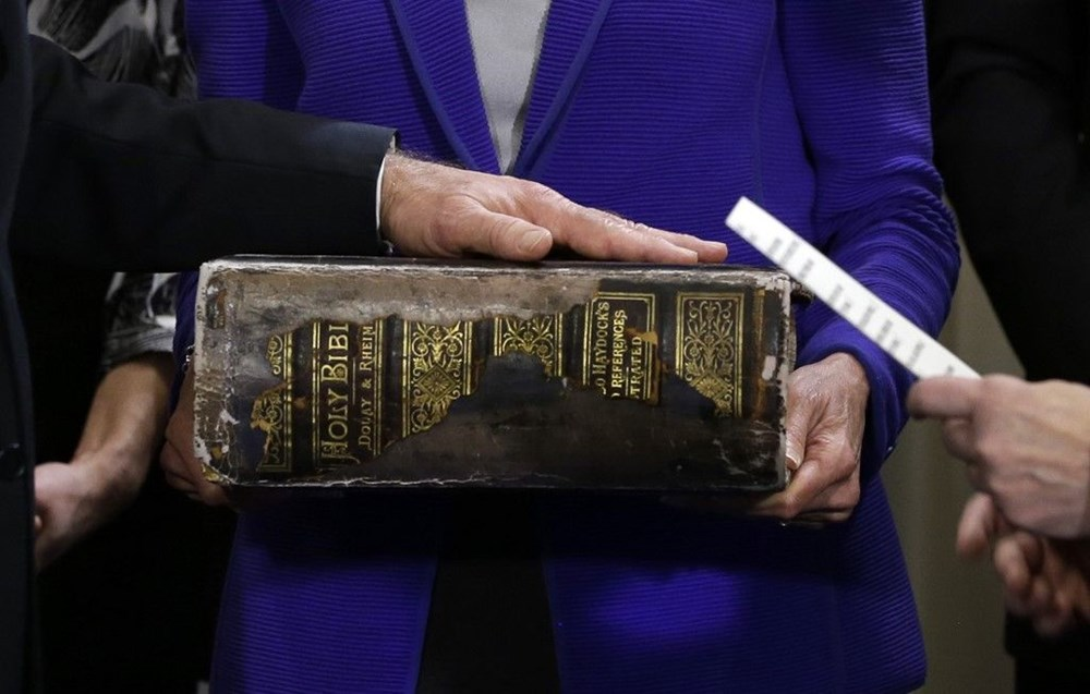 Biden'ın yemin töreninde 'aile yadigarı' İncil detayı: 1893'e dayanıyor, her törende onu kullanıyor - 4