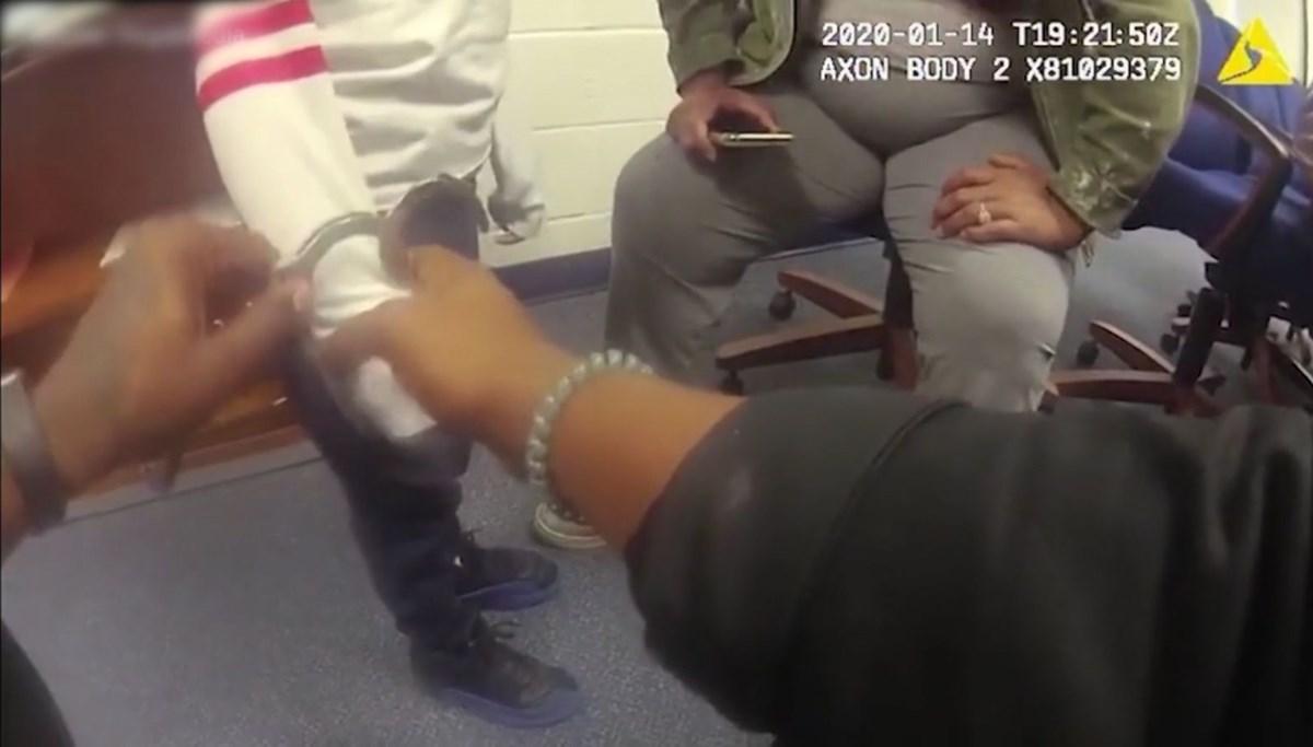 US police handcuffed 5-year-old boy running away from school