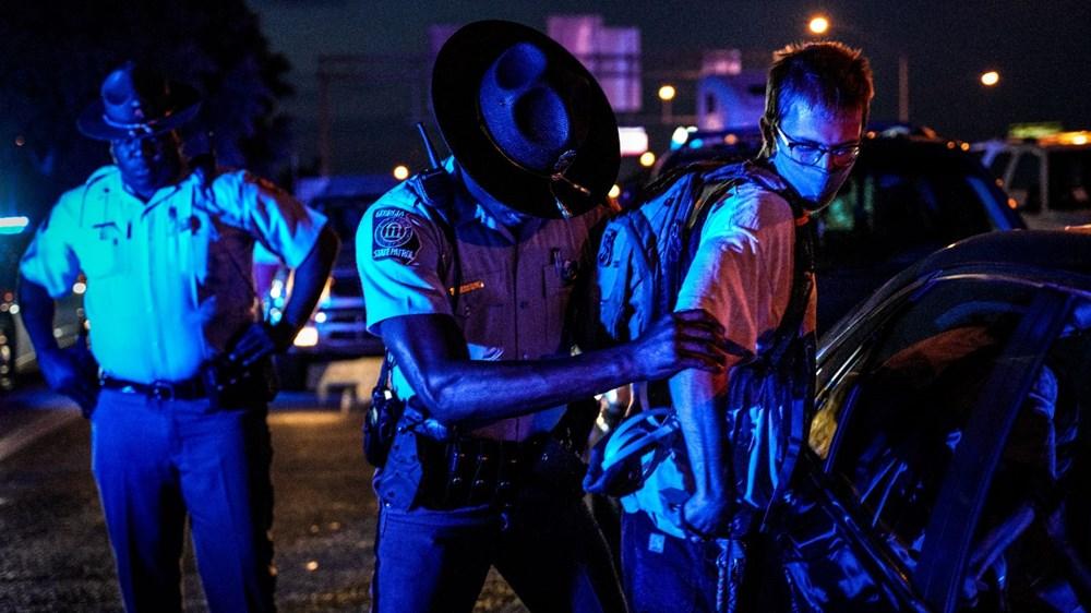 ABD'de yine polis şiddeti (Atlanta kenti karıştı) - 4