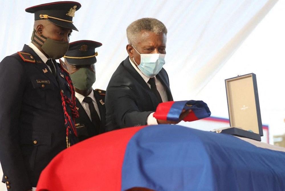 Suikasta uğrayan Haiti Devlet Başkanı'na cenaze töreni düzenlendi - 2