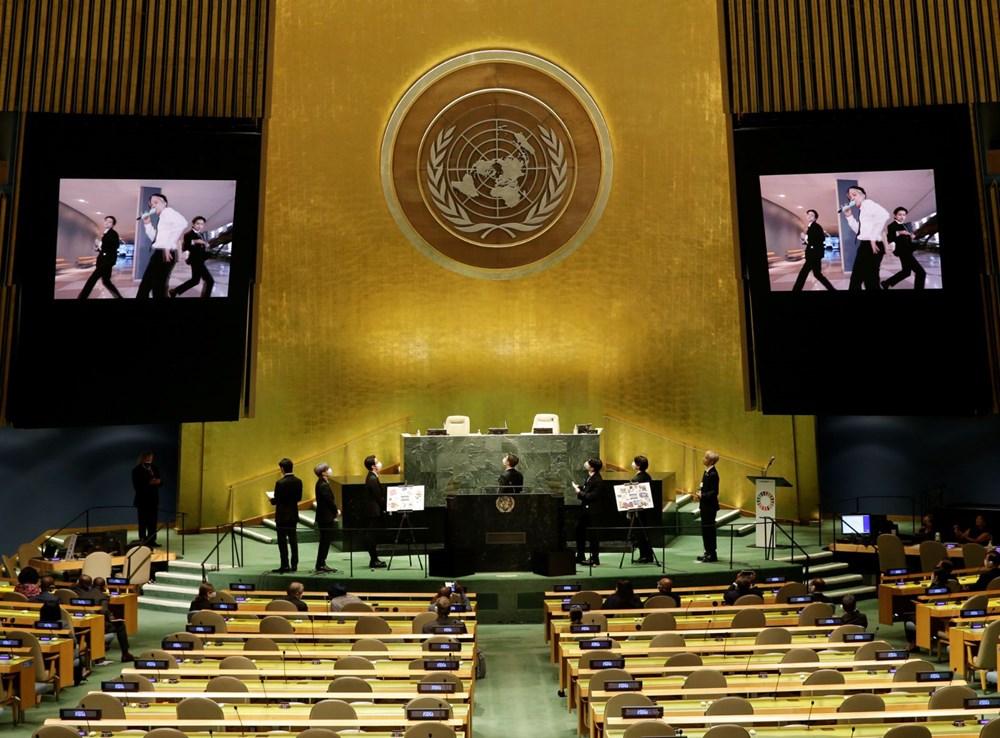 BTS grubu Birleşmiş Milletler Genel Kurulu'nda konuştu - 6