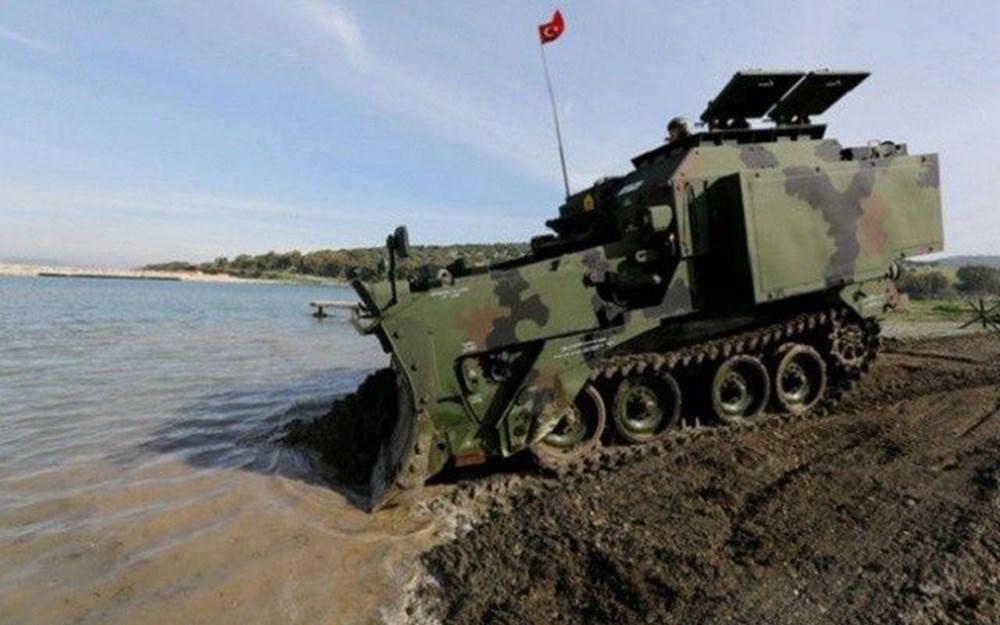 Dijital birliğin robot askeri Barkan göreve hazırlanıyor (Türkiye'nin yeni nesil yerli silahları) - 203