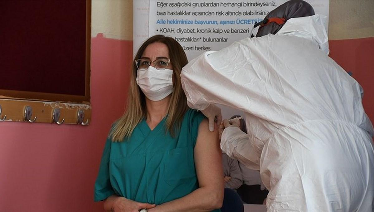 SON DAKİKA: Pazartesi'den itibaren tüm öğretmenler aşı olabilecek