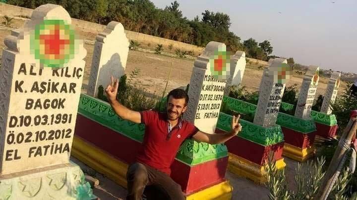 Mardinli olan Mehmet Şerif Boğa'nın 2013 yılında operasyonla etkisiz hale getirilen 'Akif Doğan' kod adlı Mehmet Şirin Cebe ile 2012 yılında etkisiz hale getirilen 'Aşikar' kod adlı Ali Kılıç isimli PKK'lı teröristlerin daha sonradan yıkılan mezarları arasında poz verdiği fotoğraflar ortaya çıktı. Sosyal medya hesaplarında elinde tüfek ve tabanca ile çekilmiş fotoğrafları da olduğu görülen Boğa'nın terör örgütü PKK ile bağlantısı incelemeye alındı.