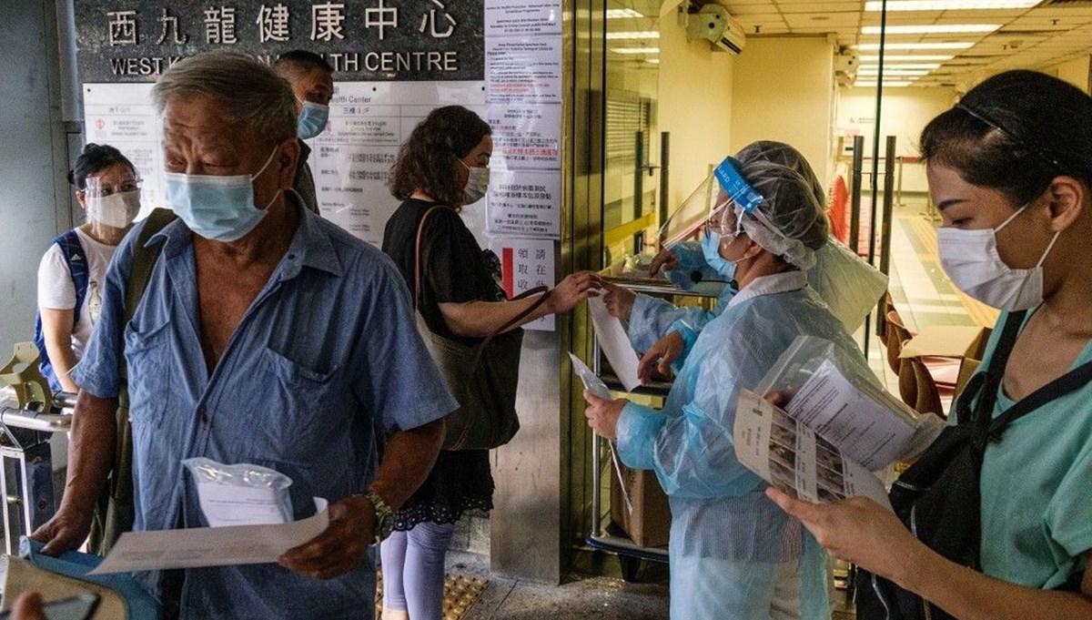 Hong Kong 7,5 milyon vatandaşa Covid-19 testi yapacak