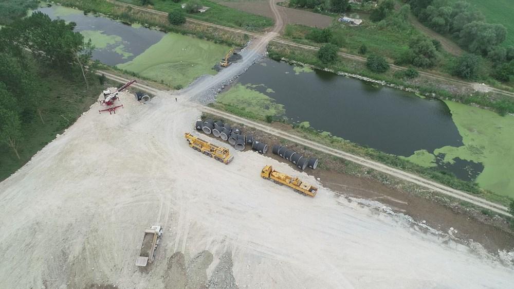 Kanal İstanbul'da temelin atılacağı nokta - 5