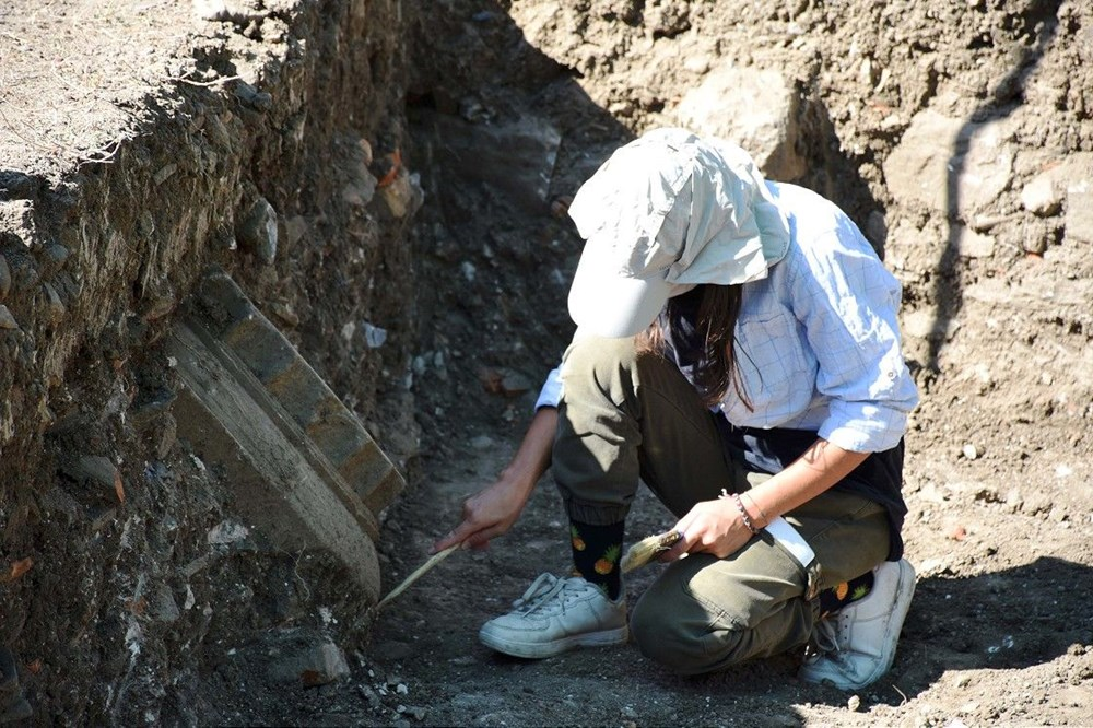 Muğla Lagina Hekate Kutsal Alanı'ndaki yapılar ayağa kaldırılıyor - 4