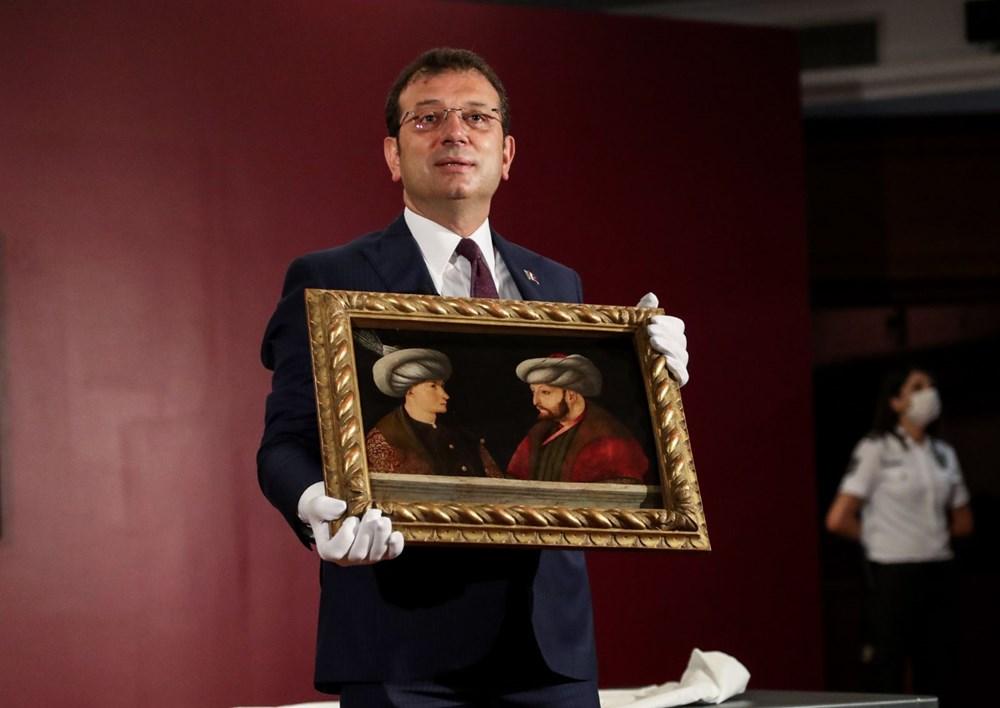 Fatih Sultan Mehmet'in tablosu ilk kez gösterildi - 5