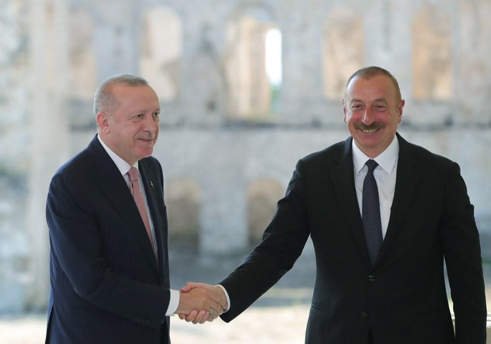 Cumhurbaşkanı Erdoğan ve Aliyev Şuşa Beyannamesi'ni imzaladı - 11
