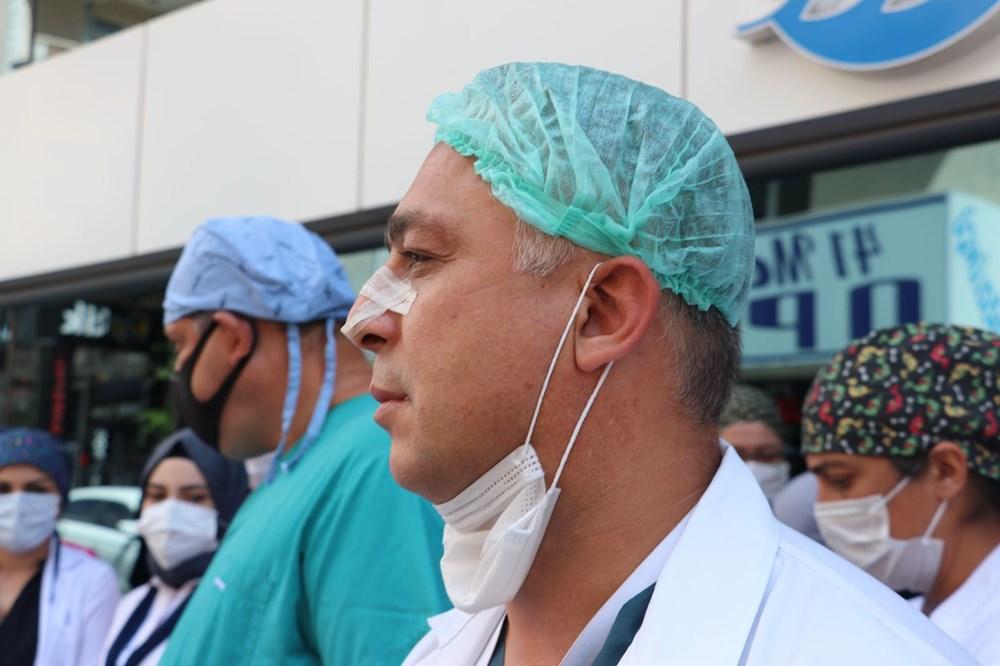 Hastanede güvenlik görevlisi ve doktora saldırı - 7