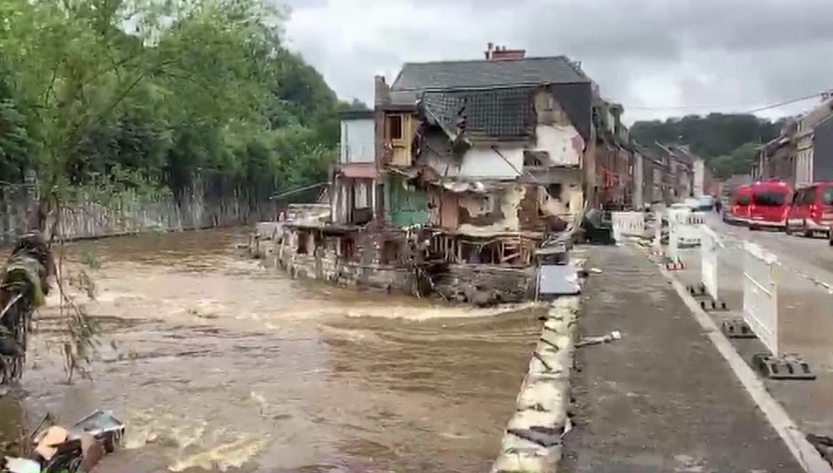 NTV Belçika'daki felaket bölgesinde