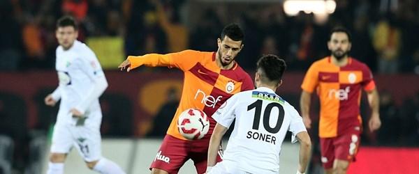 Akhisarspor-Galatasaray karşılaşması