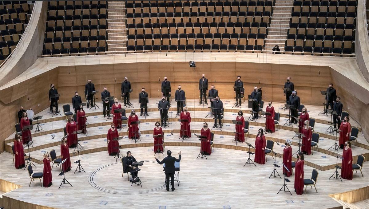 Devlet Çoksesli Korosu, CSO Ana Salon'da a capella konserinde seyirciyle buluşacak