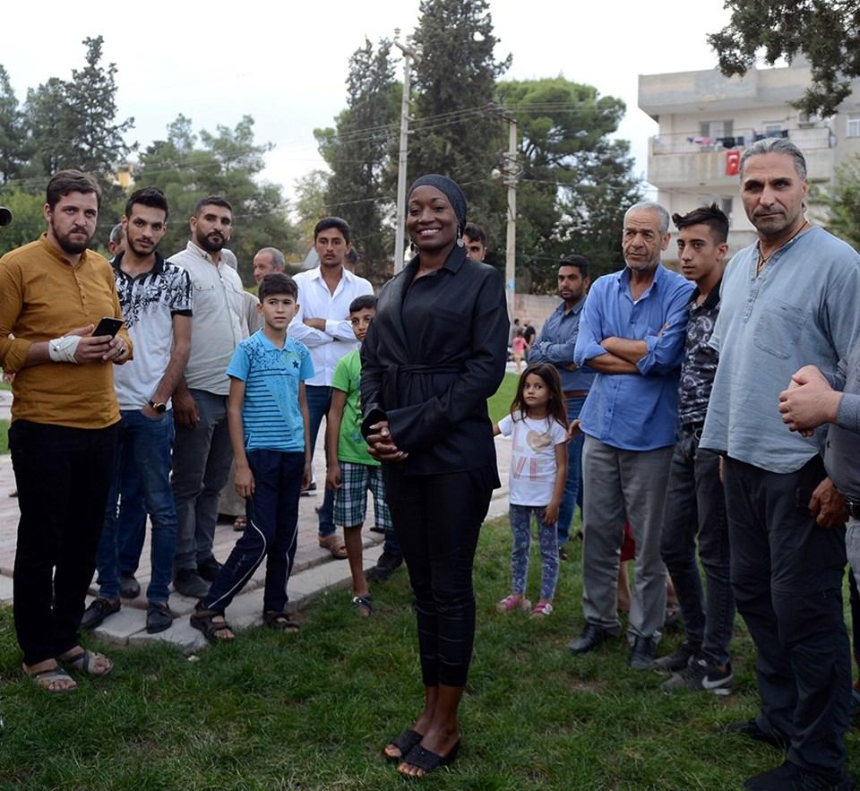 Miles, Barış Pınarı Harekatı'na destek vermek için 16 EkiM'de Akçakale'ye gitmişti