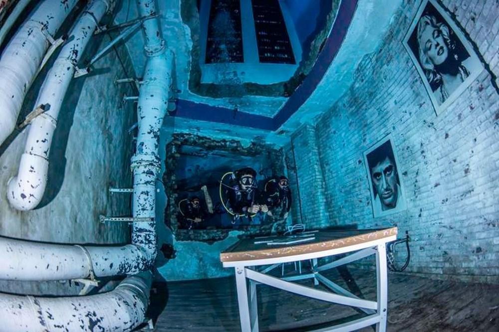 Dünyanın en derin yüzme havuzu Dubai'de açıldı: 60 metre derinliğe sahip - 2