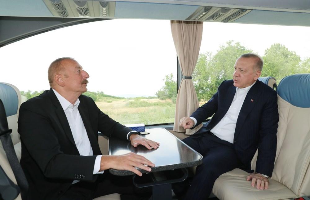 Cumhurbaşkanı Erdoğan ve Aliyev Şuşa Beyannamesi'ni imzaladı - 3
