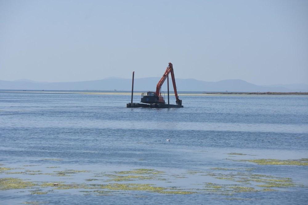 İzmir'de denizin rengi yeşile döndü - 8
