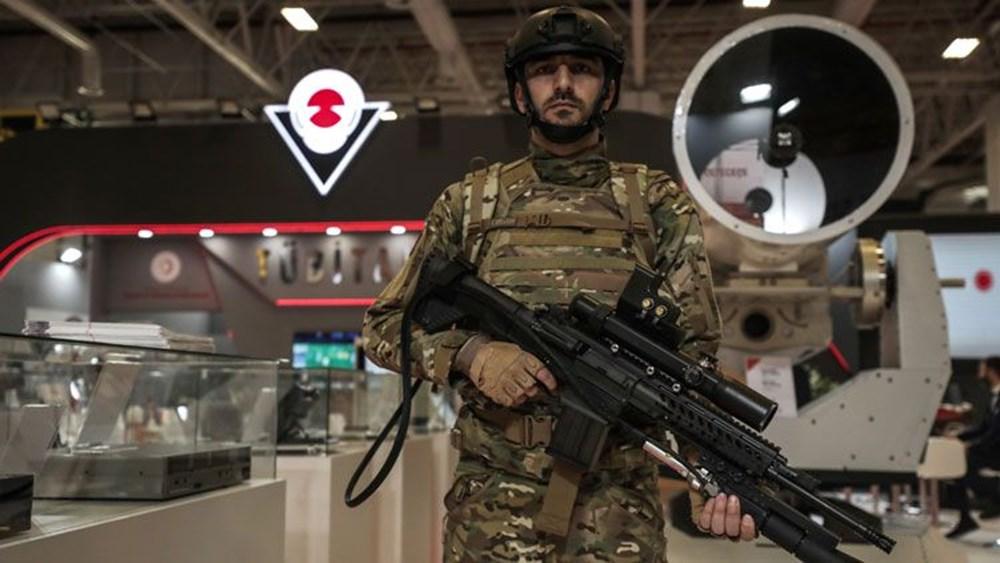 Dijital birliğin robot askeri Barkan göreve hazırlanıyor (Türkiye'nin yeni nesil yerli silahları) - 114