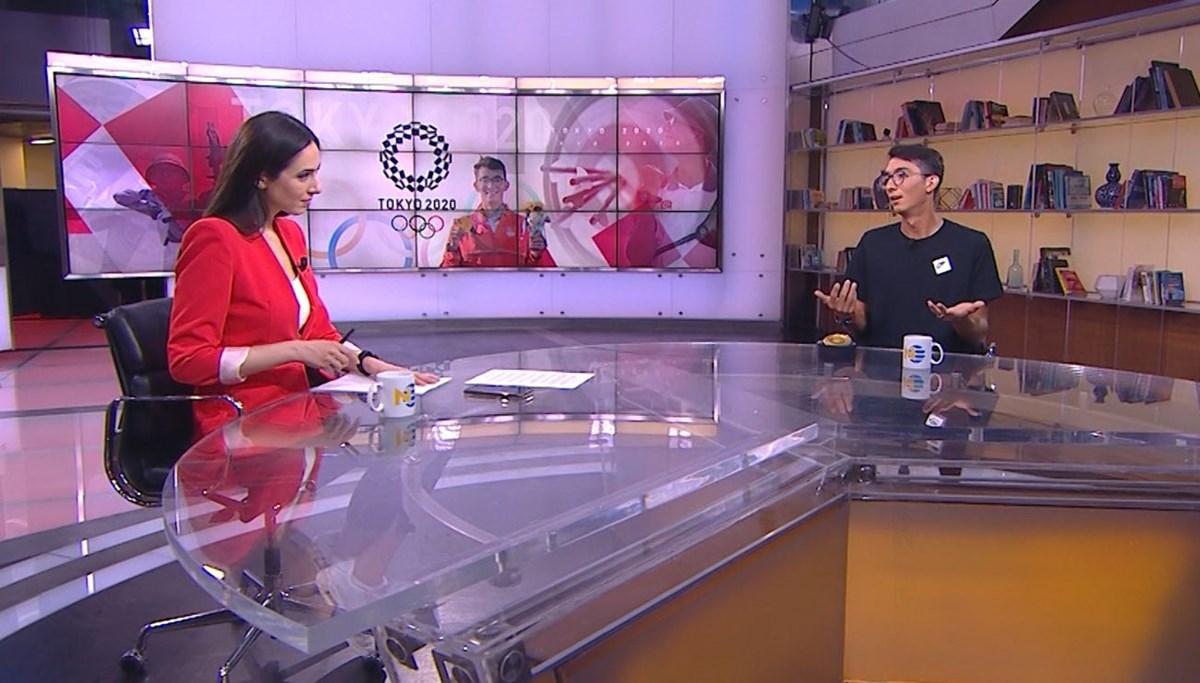 Olimpiyat şampiyonu Mete Gazoz NTV'de
