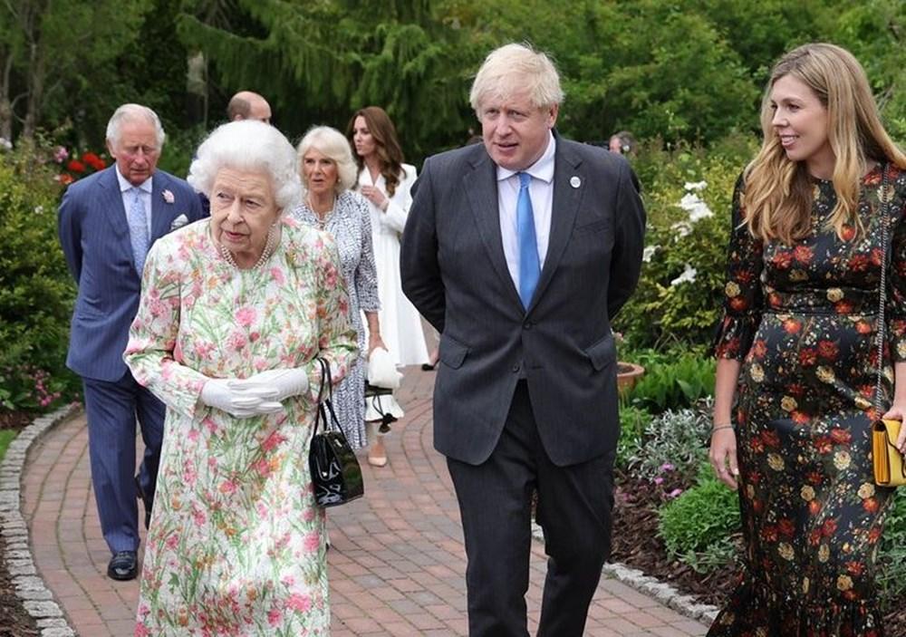 G7 ülkelerinin liderleri İngiltere'de buluştu - 9