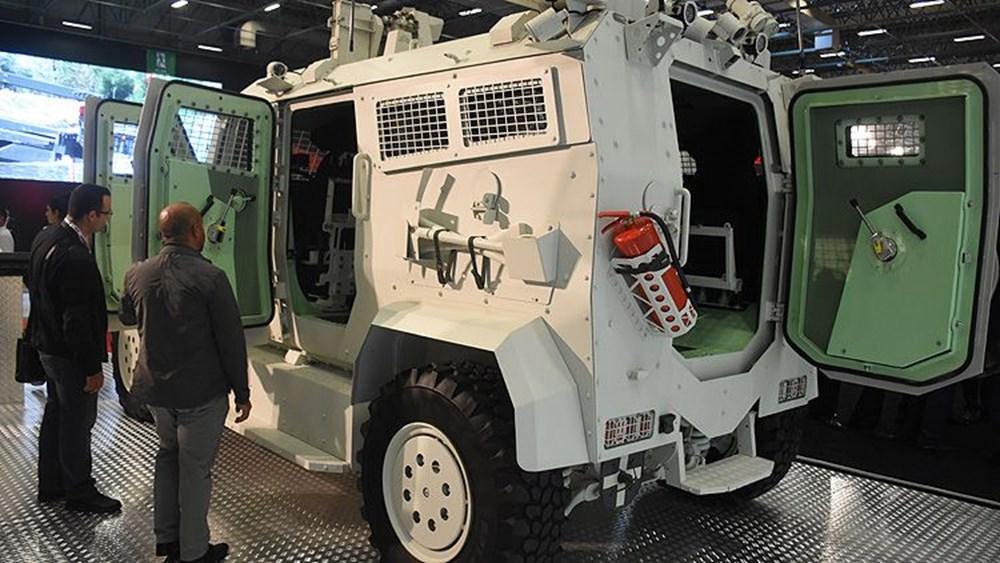 Silahlı drone Songar, askeri kara aracına entegre edildi (Türkiye'nin yeni nesil yerli silahları) - 103