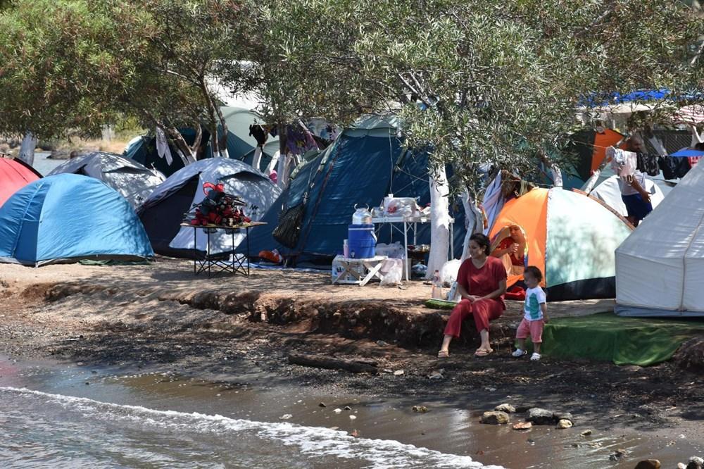 Sahiller çadır kente döndü: Günlüğü 45 liraya tatil - 11