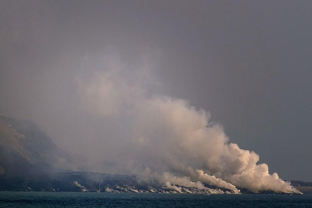 La Palma'da yanardağ nedeniyle evlerini kaybeden halk psikolojik yıkım yaşıyor - 6