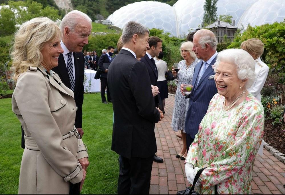 G7 ülkelerinin liderleri İngiltere'de buluştu - 5