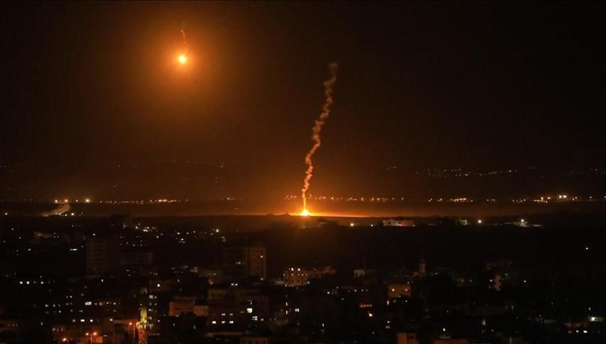 İsrail, Gazze'de Hamas'a ait bir gözetleme noktasını vurdu