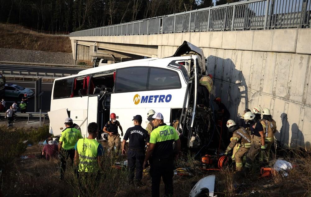 Kuzey Marmara Otoyolu'nda otobüs yoldan çıktı: 5 ölü, 25 yaralı - 7
