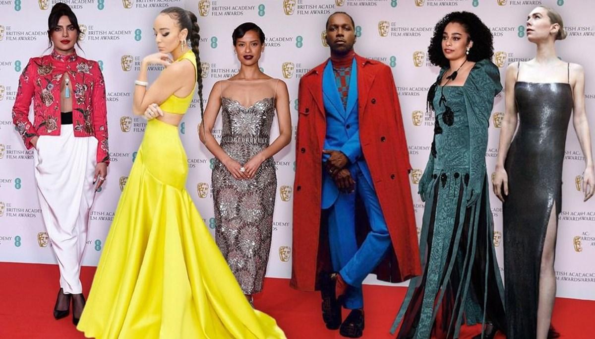 BAFTA Ödülleri'nde kırmızı halı şıklığı