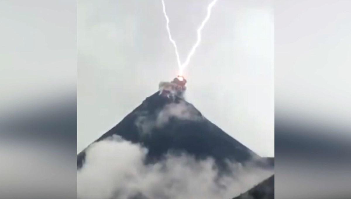 Giant lightning explosion