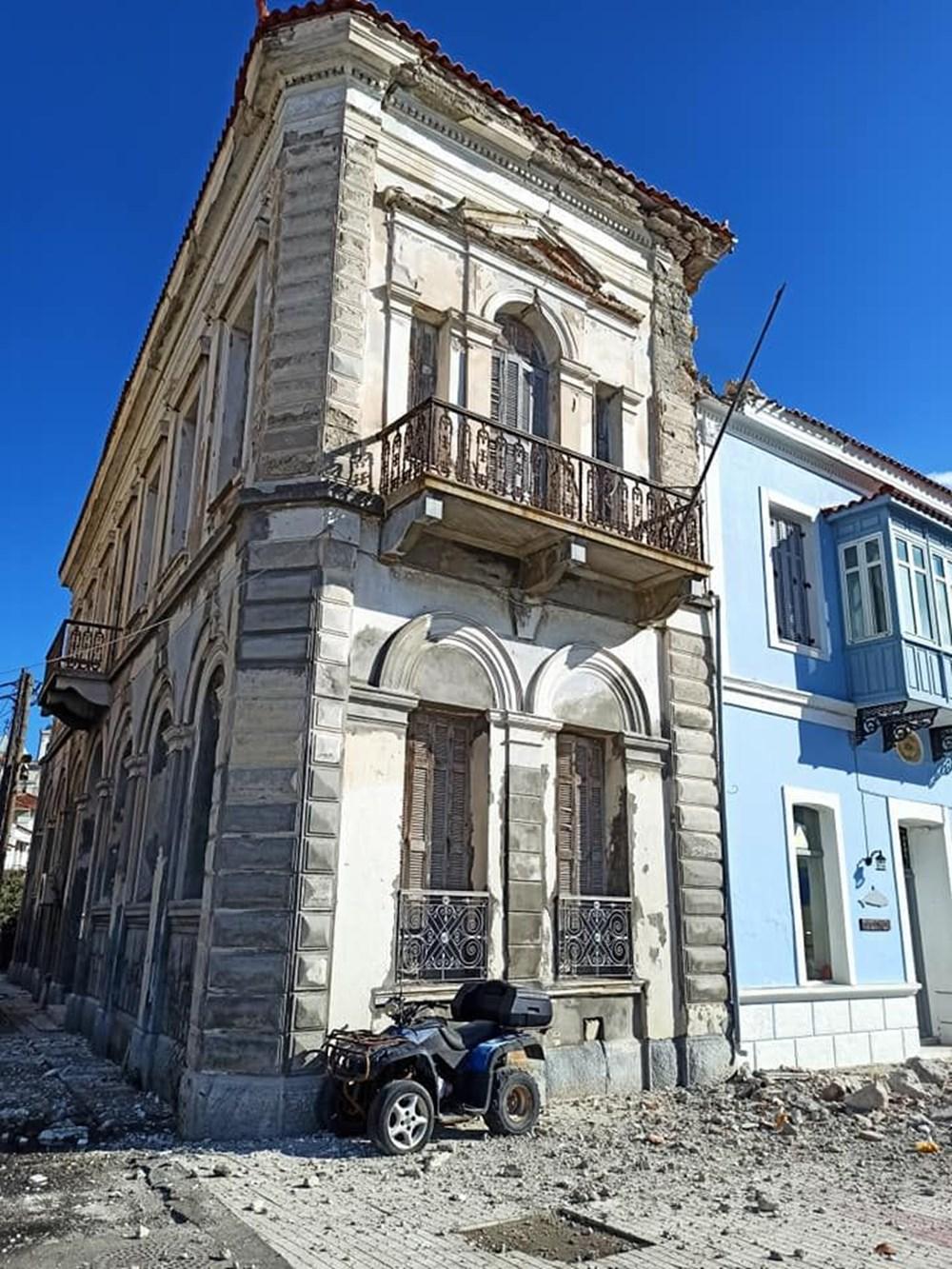 İzmir depremi Yunan adası Sisam'ı da vurdu: 2 çocuk yaşamını yitirdi - 6