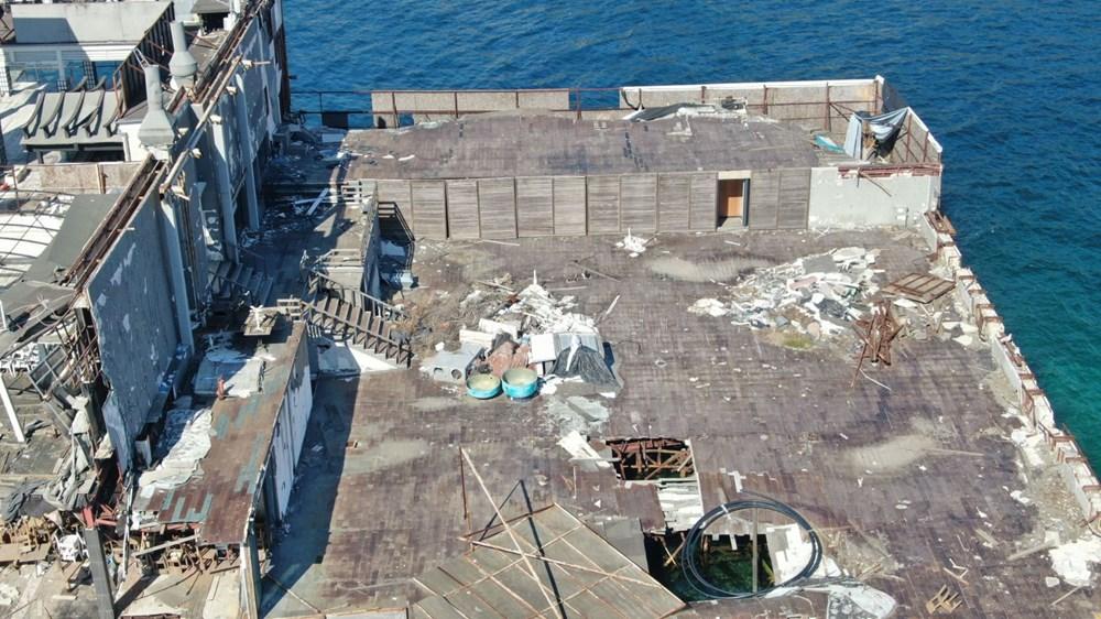 İstanbul Boğazı'nın ortasında moloz yığını - 5